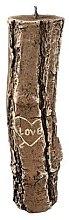 Духи, Парфюмерия, косметика Ароматическая свеча, 7х26 см., пень коричневый - Artman Stump Valentin