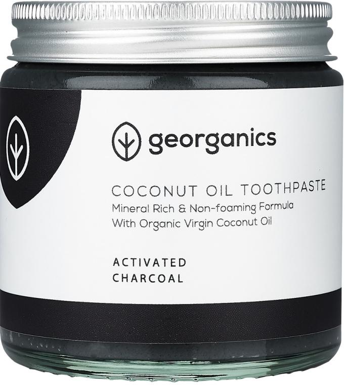 Натуральная зубная паста - Georganics Activated Charcoal Natural Toothpaste