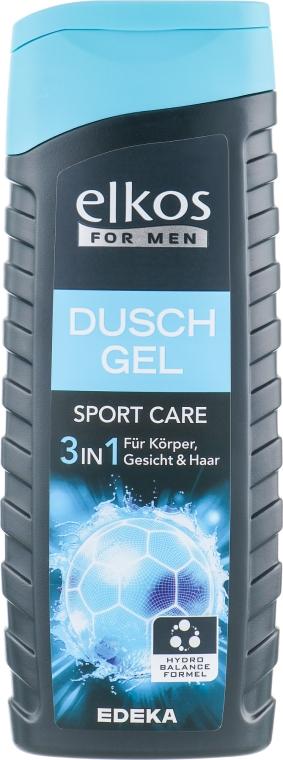 Гель для душа для мужчин - Elkos For Men Sport Care Shower Gel