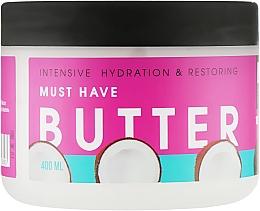 """Духи, Парфюмерия, косметика Питательный баттер для тела """"Интенсивное увлажнение и восстановление"""" - Luff Intensive Hydration&Restoring Butter"""