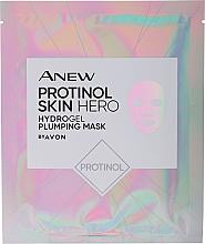 Духи, Парфюмерия, косметика Увлажняющая и укрепляющая маска для лица с протинолом - Avon Anew Protinol Skin Hero Hydrogel Plumping Mask