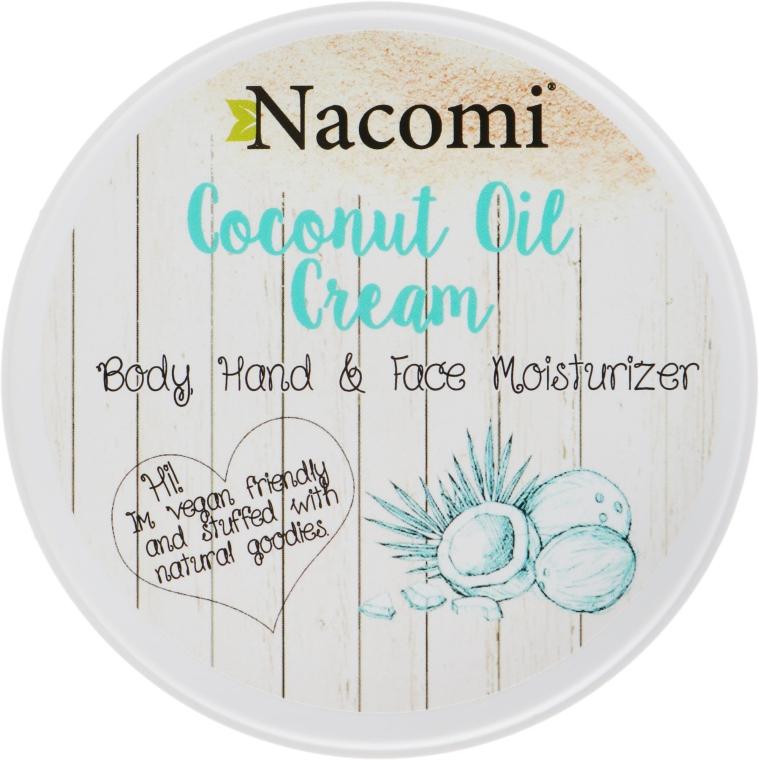Кокосовый крем для тела - Nacomi Coconut Cream
