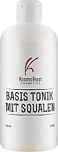 Духи, Парфюмерия, косметика Тоник базовый со скваленом и протеинами шелка - KosmoTrust Basis Tonik Mit Squalen