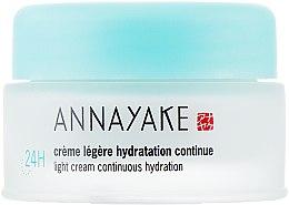 """Духи, Парфюмерия, косметика Легкий крем """"Длительное увлажнение"""" - Annayake Light Cream Continuous Hydration 24 (тестер)"""