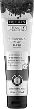 "Духи, Парфюмерия, косметика Глиняная маска для лица ""Уголь и пробиотики"" - Freeman Beauty Infusion Cleansing Clay Mask"