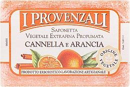 Духи, Парфюмерия, косметика Мыло твердое растительное Корица и Апельсин - I Provenzali Vegetale