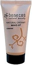 Духи, Парфюмерия, косметика Тональный крем - Benecos Natural Creamy Foundation Make-Up