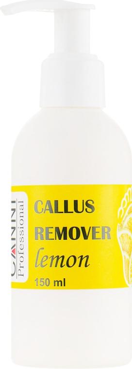 """Препарат для удаления ороговевшей кожи и мозолей """"Лимон"""" - Canni Callus Remover Lemon"""