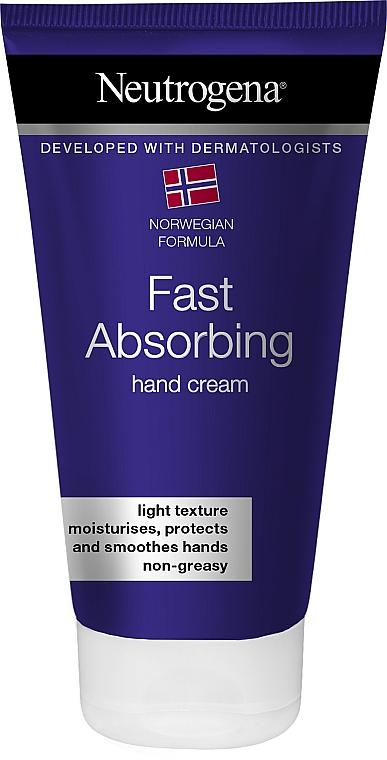 """Быстровпитываемый легкий крем для рук """"Норвежская формула"""" - Neutrogena Norwegian Formula Fast Absorbing Light Texture Hand Cream"""