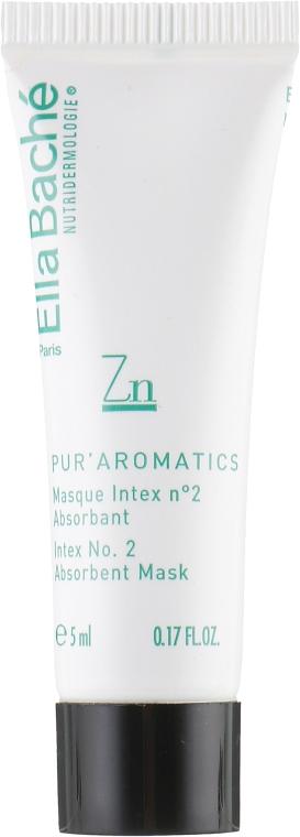 Абсорбирующая очищающая маска - Ella Bache Detox Aromatique Masque Intex № 2 Absorbing Mask (пробник)