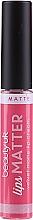 Духи, Парфюмерия, косметика Помада для губ - Beauty UK Lips Matter Velvet Matte Lip Cream