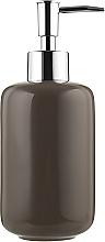 Духи, Парфюмерия, косметика Дозатор для мыла керамический, серо-коричневый 400 мл - Kela Isabella