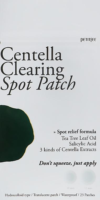 Точечные патчи от воспалений с экстрактом центеллы азиатской - Petitfee Centella Clearing Spot Patch