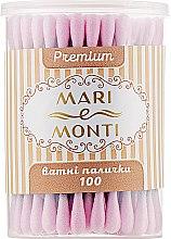 Духи, Парфюмерия, косметика Ватные палочки, черные с розовым - Mari E Monti