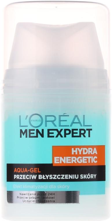 """Увлажняющий гель """"Ледяной эффект"""" - L'Oreal Paris Men Expert Hydra Energetic — фото N7"""