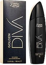 Духи, Парфюмерия, косметика Creation Lamis Golden Diva - Парфюмированная вода