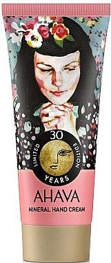 Минеральный крем для рук - Ahava 30 Years Mineral Hand Cream