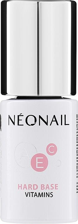 База для гель лака - NeoNail Professional Hard Base Vitamins