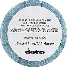 Духи, Парфюмерия, косметика Формирующая помадка для волос - Davines More Inside This is a Forming Pomade