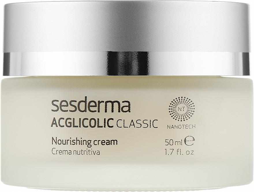 Нічний поживний крем - SesDerma Laboratories Acglicolic Classic Nourising Cream — фото N1