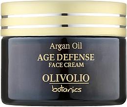 Духи, Парфюмерия, косметика Антивозрастной крем для лица - Olivolio Age Defense Face Cream with Organic Argan Oil