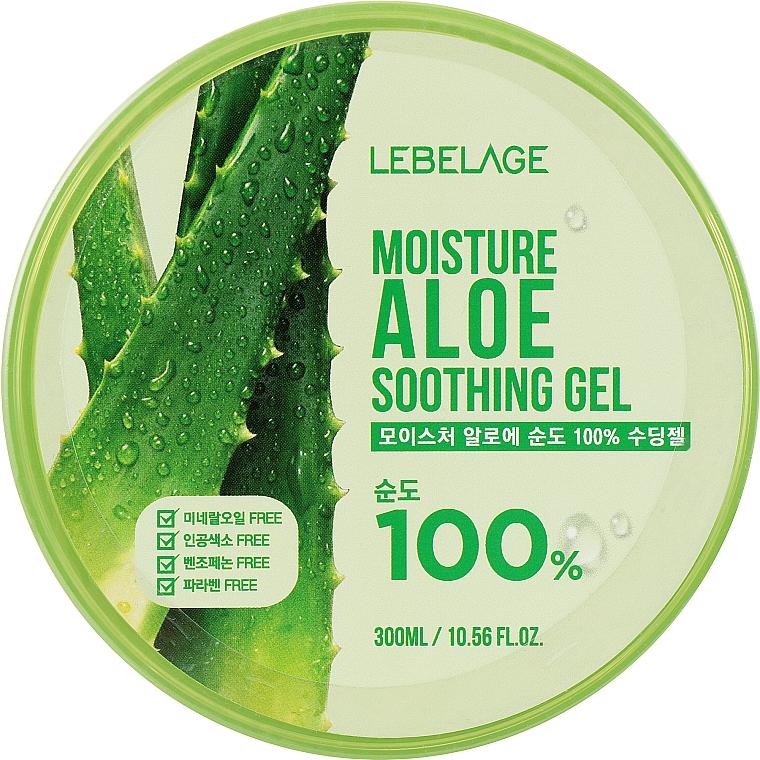 Увлажняющий гель с алоэ - Lebelage Moisture Aloe 100% Soothing Gel