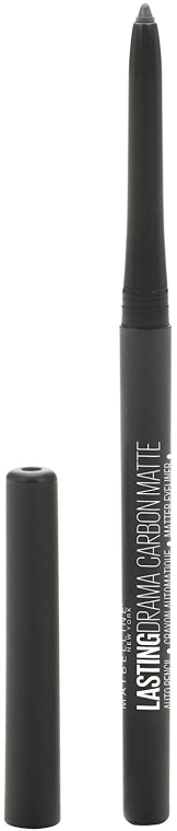 Карандаш для глаз - Maybelline New York Lasting Drama 24h Carbon Matte Eyeliner — фото N1