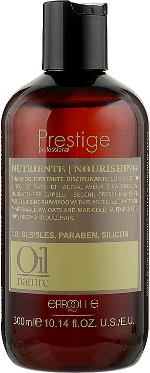 Восстанавливающий шампунь для сухих и поврежденных волос - Erreelle Italia Prestige Oil Nature Nourishing Shampoo