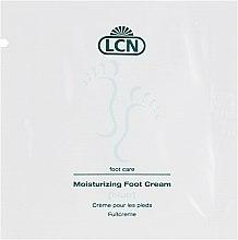 Духи, Парфюмерия, косметика Увлажняющий крем для ног с морскими водорослями - LCN Moisturizing Foot Cream (пробник)