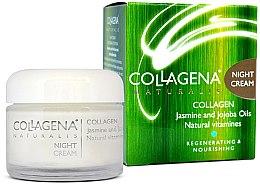 Духи, Парфюмерия, косметика Ночной крем для нормальной и сухой кожи лица - Collagena Naturalis Night Cream
