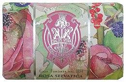 "Духи, Парфюмерия, косметика Мыло ""Дикая роза"" - La Florentina Wild Rose Bath Soap"