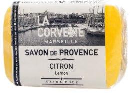 "Духи, Парфюмерия, косметика Прованское мыло ""Лимон"" - La Corvette Provence Soap"