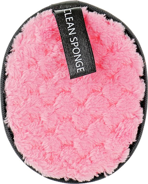 Хлопковый спонж для умывания, PF-34, розовый - Puffic Fashion
