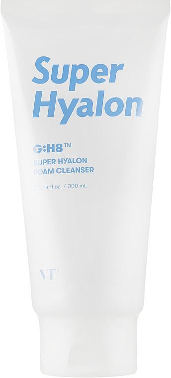 Пенка для умывания с гиалуроновой кислотой - VT Cosmetics Super Hyalon Foam Cleanser