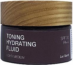 Духи, Парфюмерия, косметика Тонирующий увлажняющий флюид SPF 30 PA++ - Lac Sante Clear & Glow Toning Hydrating Fluid