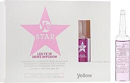 Духи, Парфюмерия, косметика Сыворотка для волос - Yellow Star Leave-In Shine Infusion