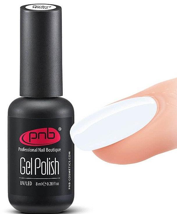 """Гель-лак """"Идеальный белый"""" - PNB Perfect White Gel Polish"""