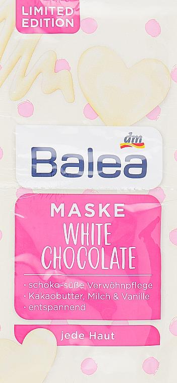 """Маска для лица """"Белый Шоколад"""" - Balea Maske White Chocolate"""