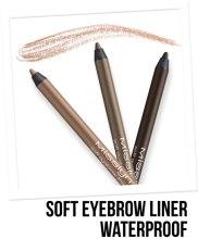 Водостойкий карандаш для бровей - Misslyn Soft Eyebrow Liner Waterproof — фото N2