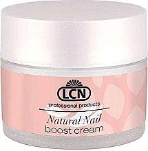 Духи, Парфюмерия, косметика Питательный крем для полировки и запечатывания ногтей с протеинами и кератином - LCN Natural Nail Boost Cream
