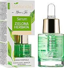 Духи, Парфюмерия, косметика Сыворотка с маслом чайного дерева для комбинированной кожи - Bielenda Green Tea Face Serum Combination Skin