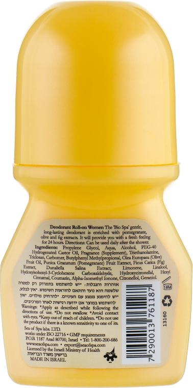 Дезодорант шариковый женский - Sea of Spa Bio Spa Deodorant Roll-on for Woman — фото N2