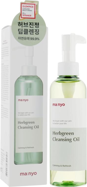 Гидрофильное масло с экстрактом трав - Manyo Factory Herb Green Cleansing Oil