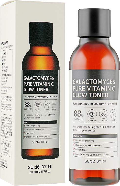 Тонер с витамином С и галактомисисом - Some By Mi Galactomyces Pure Vitamin C Glow Toner