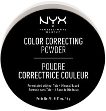 Духи, Парфюмерия, косметика Корректирующая пудра - NYX Professional Makeup Color Correcting Powder