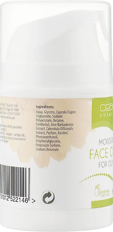 Крем для обличчя - Ceano Cosmetics Face cream Moisturizing — фото N2