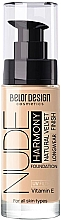 Духи, Парфюмерия, косметика Тональный крем для лица - Belor Design Nude Harmony UV Filter
