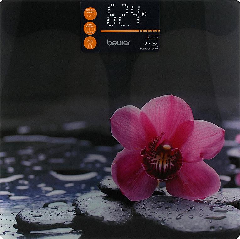 Стеклянные весы GS 215 Relax - Beurer