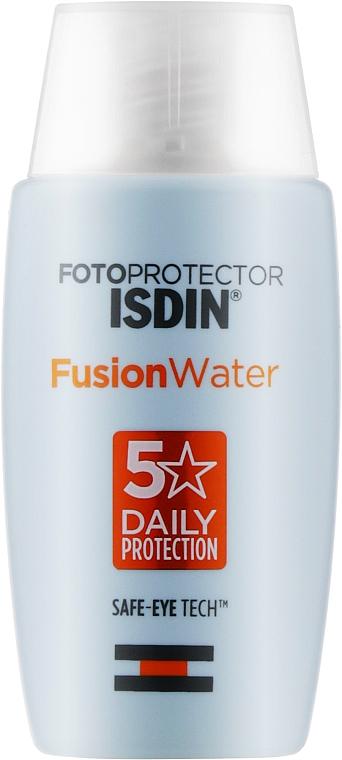 Солнцезащитное средство для лица SPF 50+ - Isdin Fotoprotector Fusion Water SPF 50+