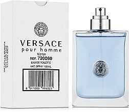 Versace Pour Homme - Туалетная вода (тестер без крышечки) — фото N2